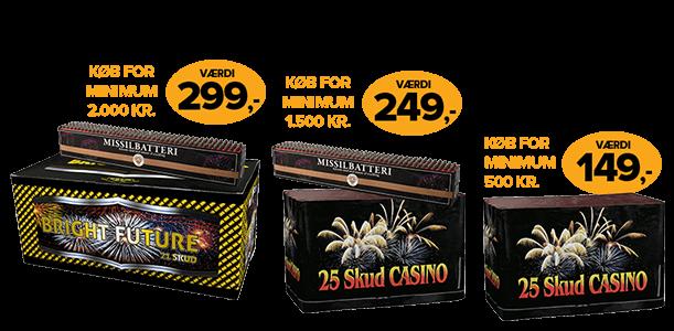 Fantastisk Fyrværkeri - Køb kvalitets fyrværkeri og nytårskrudt billigt hos AR18